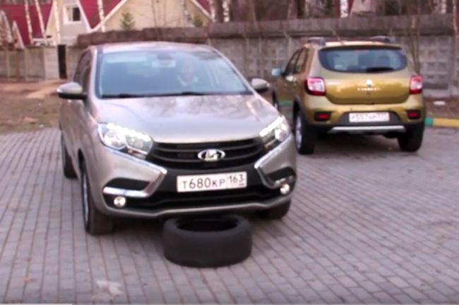 Сравнительный тест-драйв LADA XRAY и Renault Sandero Stepway - «LADA»