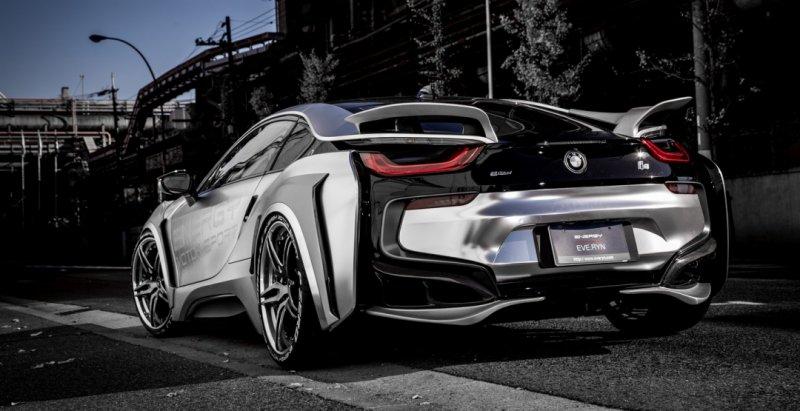 Ателье Energy Motor Sport доработало спорткар BMW i8  - «Авто тюнинг»