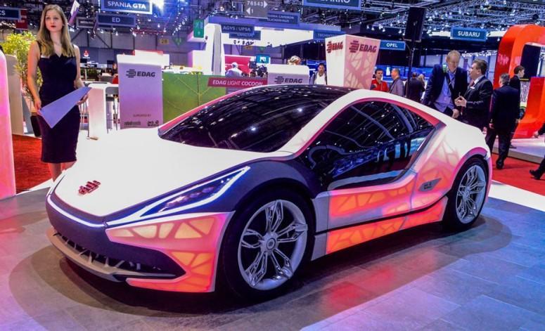 CES 2016: Bosch оснастил цифровыми дисплеями даже кузовные панели - «Автоновости»