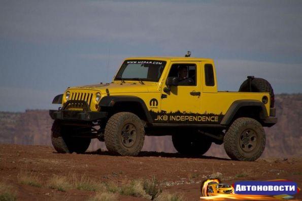 Jeep разрабатывает новый компактный внедорожник и пикап - «Авто - Новости»