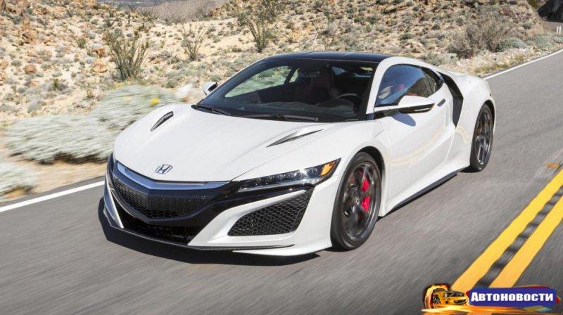 Hennessey пообещала зарядить Honda NSX - «Автоновости»