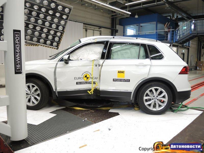 В Европе проверили на прочность новые VW Tiguan и Alfa Romeo Giulia - «Alfa Romeo»