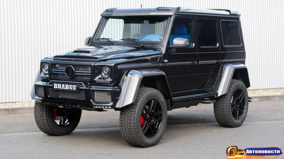 Поздоровайтесь с Mercedes-Benz G500 4x4? от Mansory - «Автоновости» - Авто