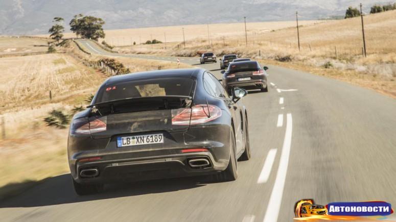 8 фактов о втором поколении Porsche Panamera - «Porsche»