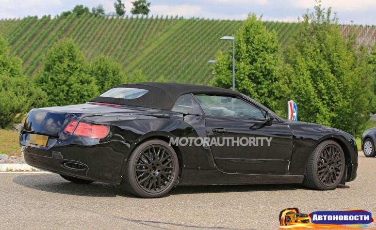Bentley начала испытания кабриолета - «Bentley»
