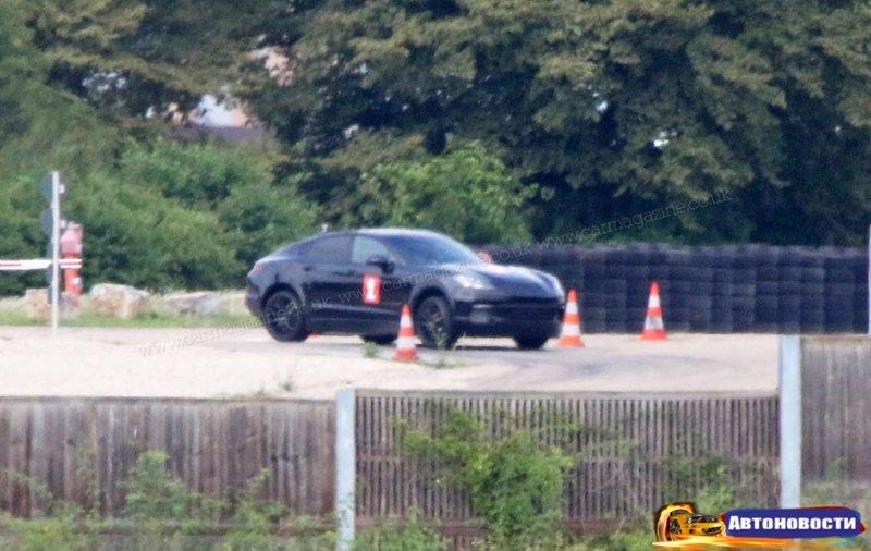 Porsche начала испытания купеобразного Cayenne - «Автоновости»