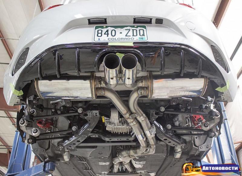 В родстер Mazda MX-5 установили 500-сильный мотор от Corvette - «Mazda»