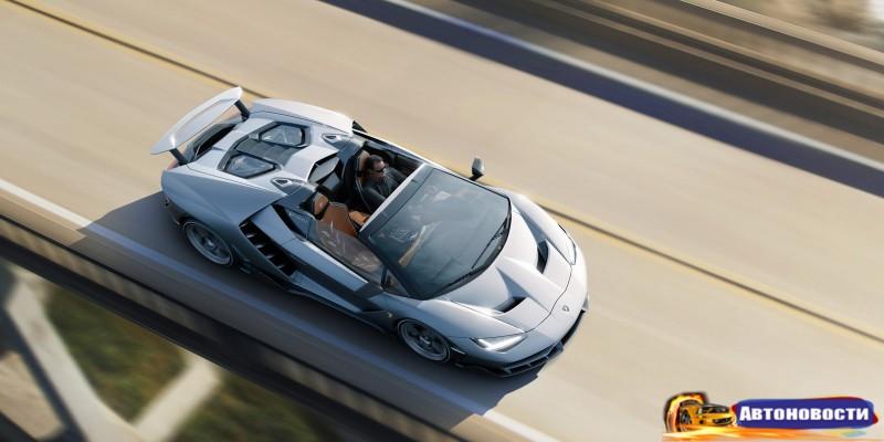 Lamborghini Centenario Roadster показали в Калифорнии - «Lamborghini»