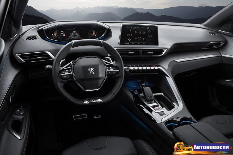 У Peugeot 3008 появилась «разогретая» версия GT - «Peugeot»