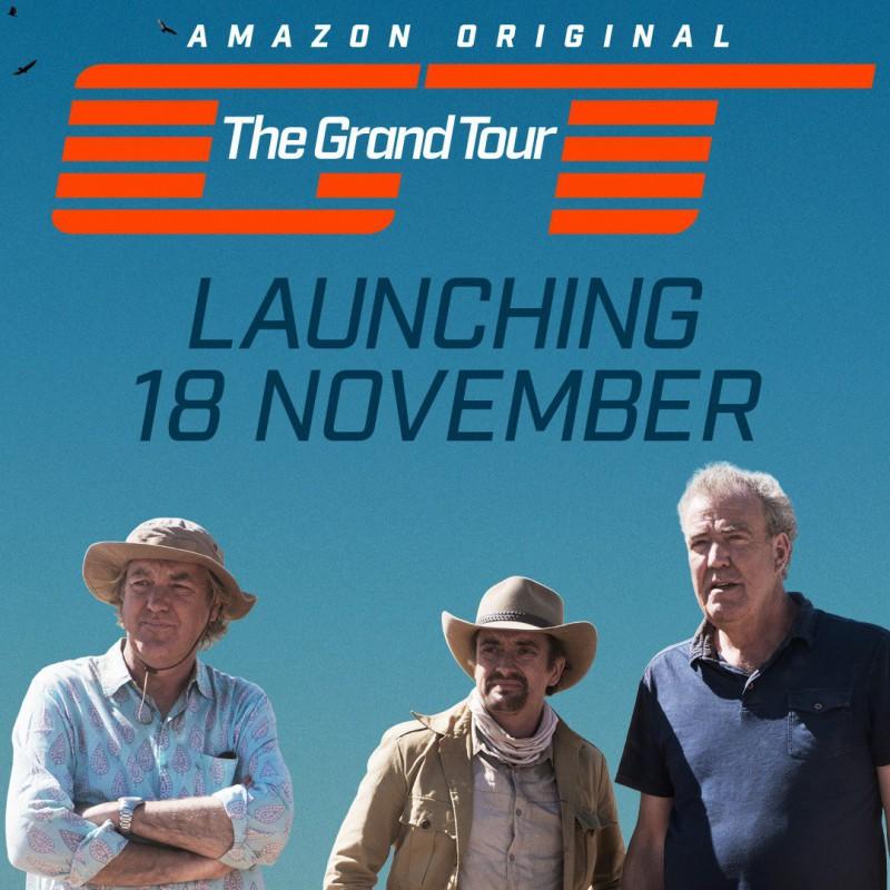 Возвращение Джереми Кларксона. Новое шоу стартует 18 ноября (видео трейлер) - «Видео»