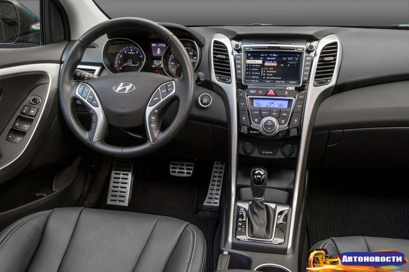 2017 Hyundai Elantra GT обзавелась новыми технологиями - «Hyundai»