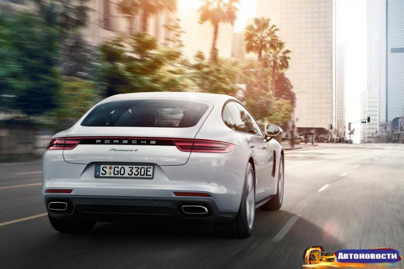 Чем похвастается в Париже новый гибрид 2018 Porsche Panamera - «Porsche»