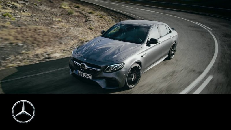 The new Mercedes-AMG E 63 S 4MATIC+ – Trailer – Mercedes-Benz Original  - «видео»