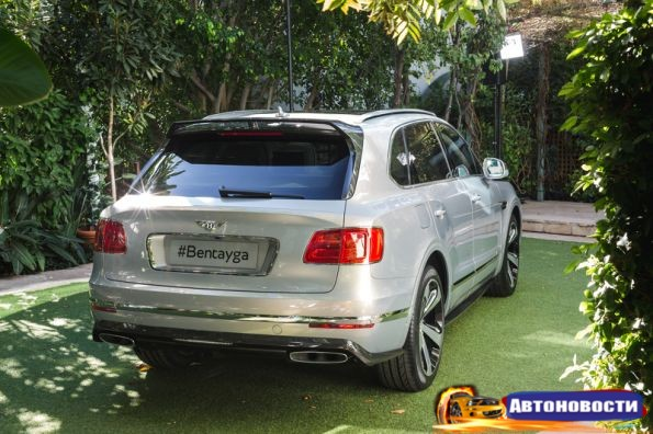 Bentley Bentayga First Edition представили в Лос-Анджелесе - «Авто - Новости»