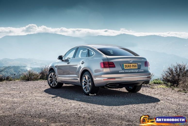 Фантазия на тему кросс-купе Bentley Bentayga - «Bentley»