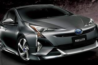 Гибридная Toyota Prius стала агрессивнее  - «Авто тюнинг»
