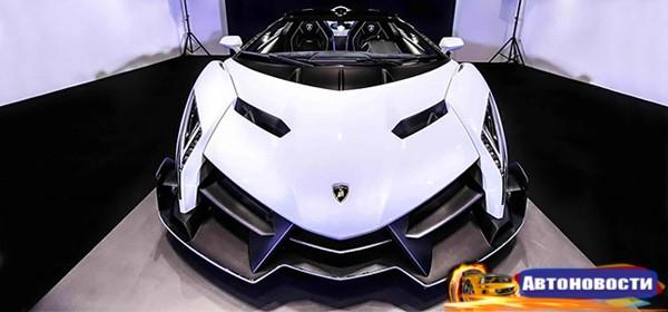 Lamborghini Centenario получит 760-сильный мотор - «Автоновости»