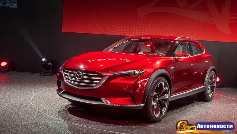 Mazda готовит спортивный кроссовер - «Mazda»
