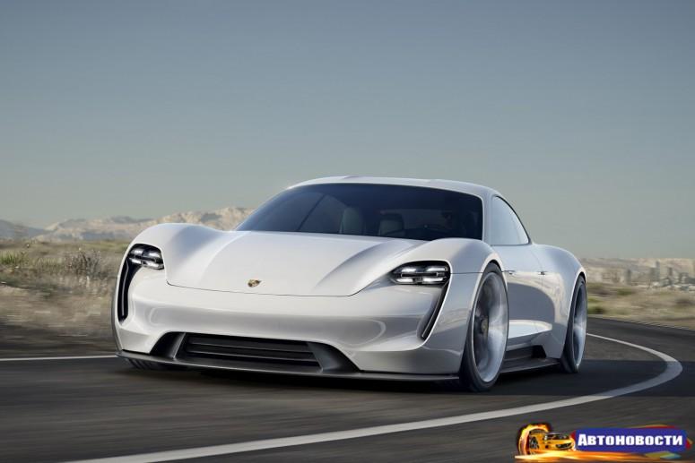Porsche запускает соперника Tesla Model S, чтобы сгладить «Дизельгейт» - «Porsche»