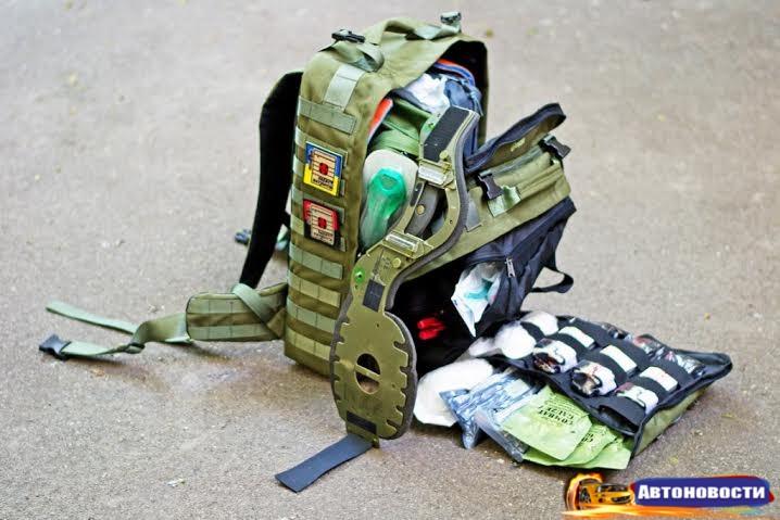 При содействии сети «ОККО» и программы FISHKA укомплектовано 35 рюкзаков для парамедиков - «Автоновости»