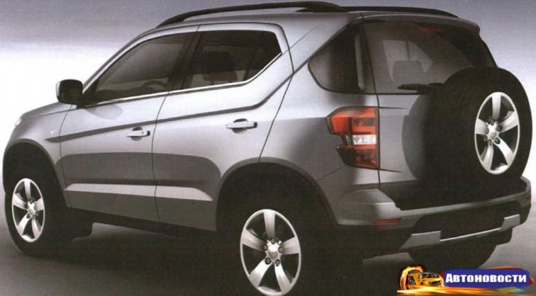 Свежие изображения Chevrolet Niva второго поколения - «Chevrolet»