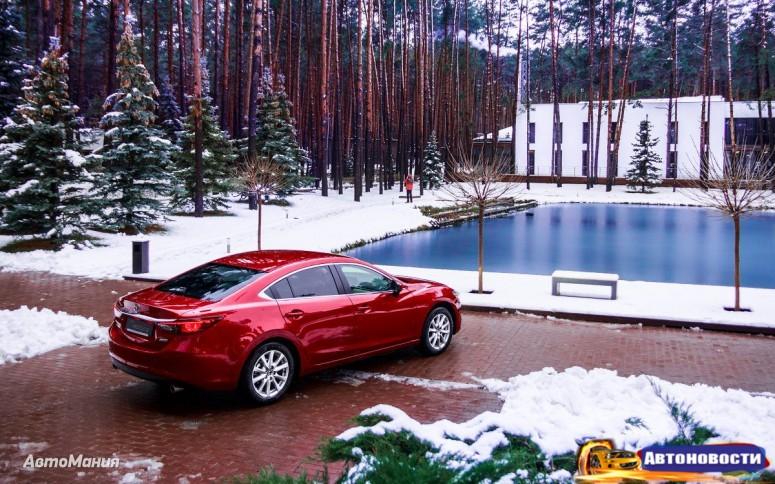 Тест-драйв дизельной Mazda6 2015: Быть собой - «Mazda»