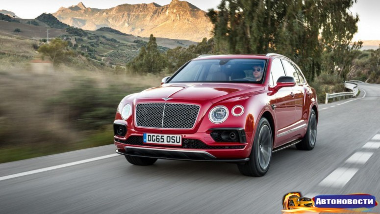 Тест-драйв от Top Gear: внедорожный Bentley Bentayga - «Bentley»