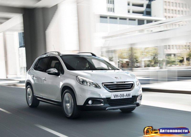 Французы рассказали об обновлении Peugeot 2008 - «Автоновости»