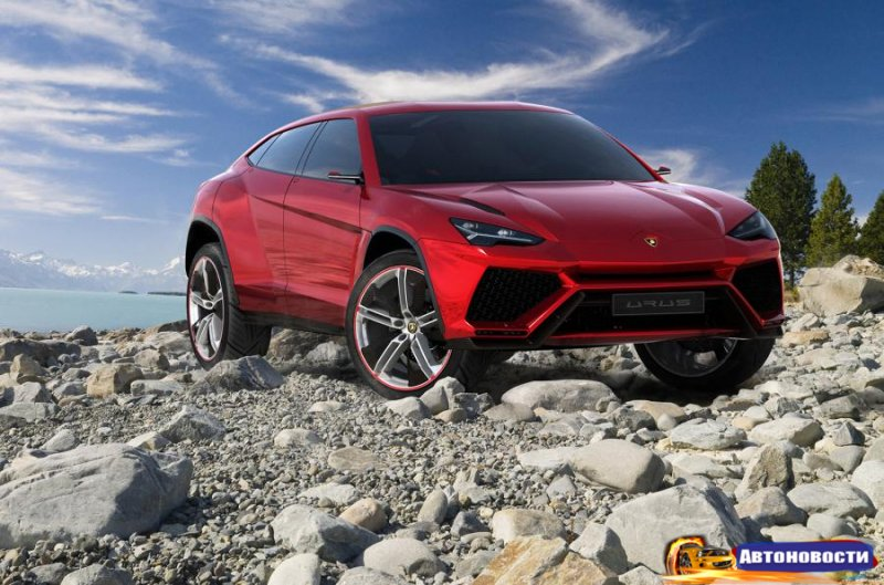 Первый кроссовер Lamborghini будет с твин-турбо V8 - «Автоновости»