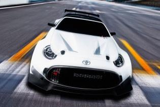 Японцы построили гоночную версию купе Toyota S-FR  - «Авто Мир»