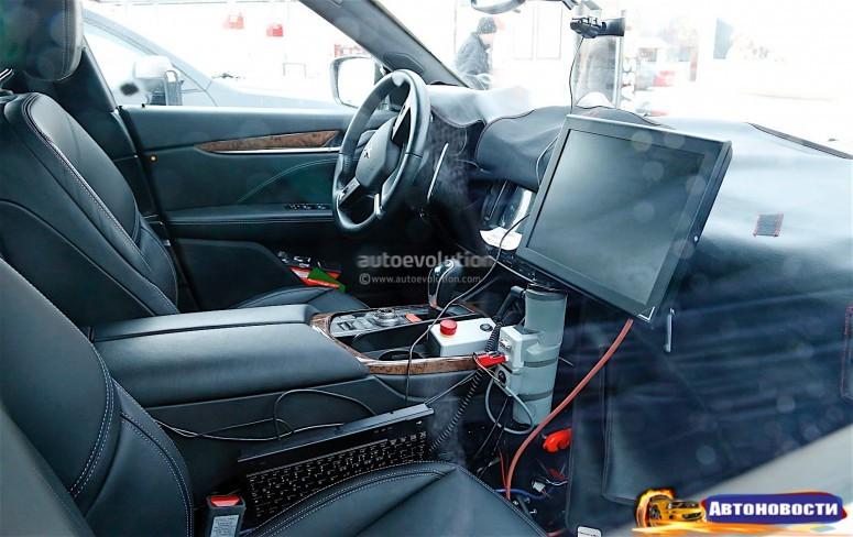 Салон кроссовера Maserati Levante будет напоминать седан Ghibli - «Maserati»
