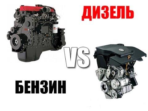 Какой двигатель круче:Бензиновый или Дизельный?  - «видео»