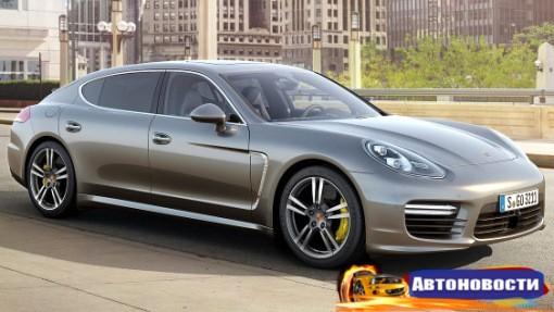 Porsche презентовала новый мотор для Panamera Turbo - «Автоновости»