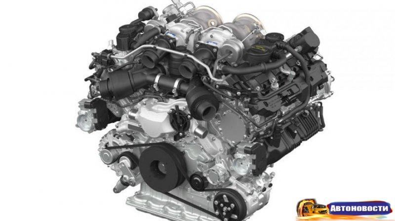 Porsche показал новый V8 для Cayenne и Panamera - «Автоновости»