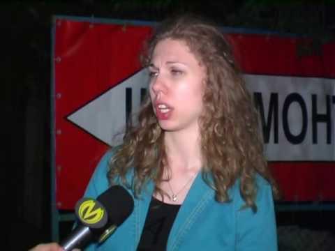 В Киеве Chrysler протаранил автомобиль с беременной женщиной  - «происшествия видео»