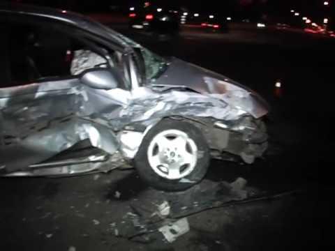 В Киеве «Opel» влетел в «Toyota»  - «происшествия видео»