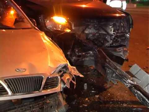 В Киеве внедорожник разбил «DAЕWOO»  - «происшествия видео»
