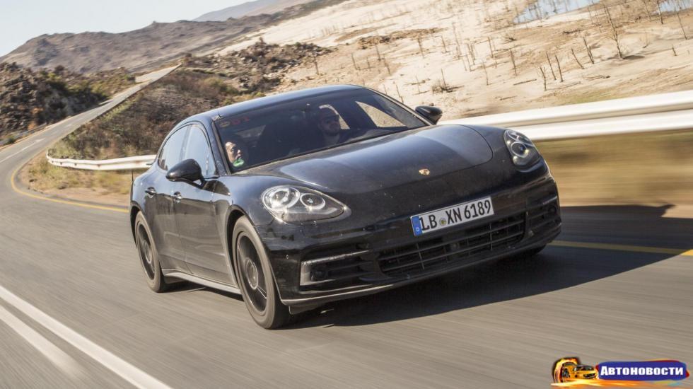 11 вещей, которые нужно знать о новом Porsche Panamera - «Автоновости»