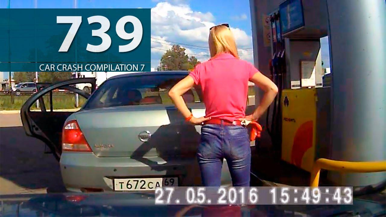 Car Crash Compilation # 739 - May 2016 (English Subtitles)  - «происшествия видео»
