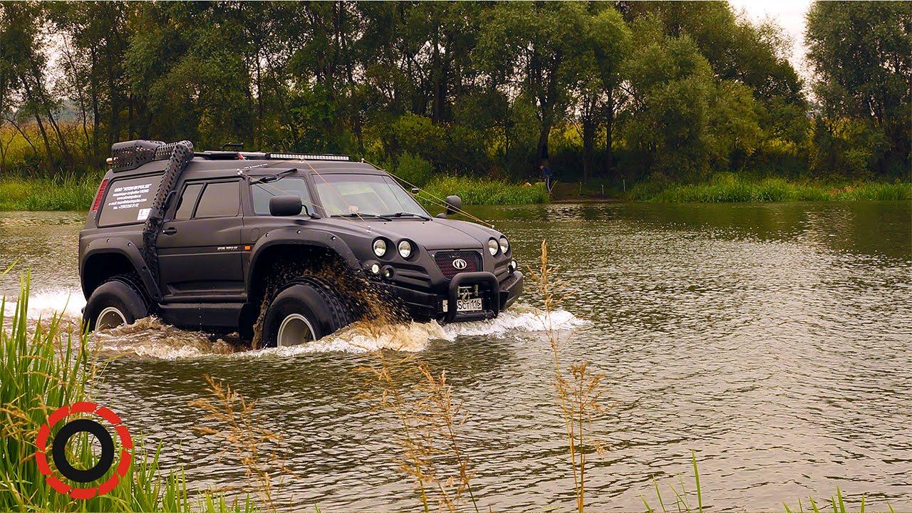 Машина вездеход для охоты и рыбалки