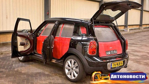 Классический MINI уместился в кузове нового MINI Countryman - «Автоновости»