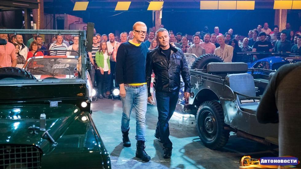 Первый эпизод нового сезона Top Gear: как это было - «Автоновости»