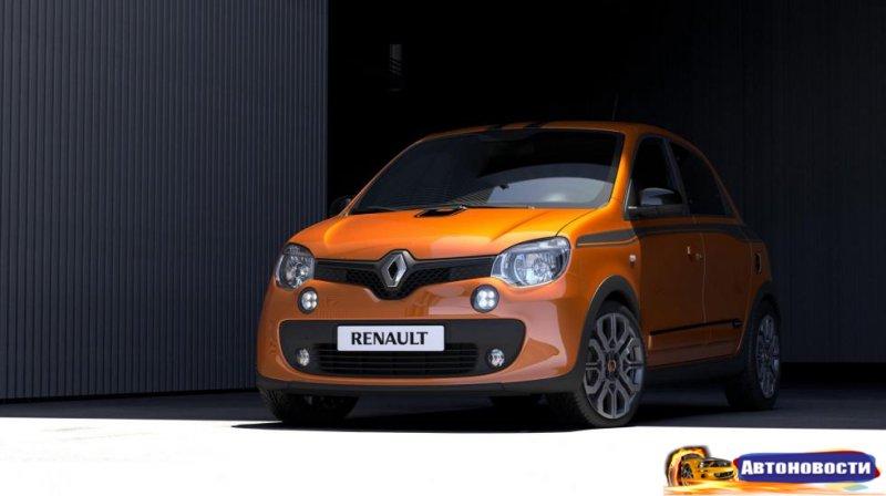 В Renault зарядили малыша Twingo! - «Автоновости»