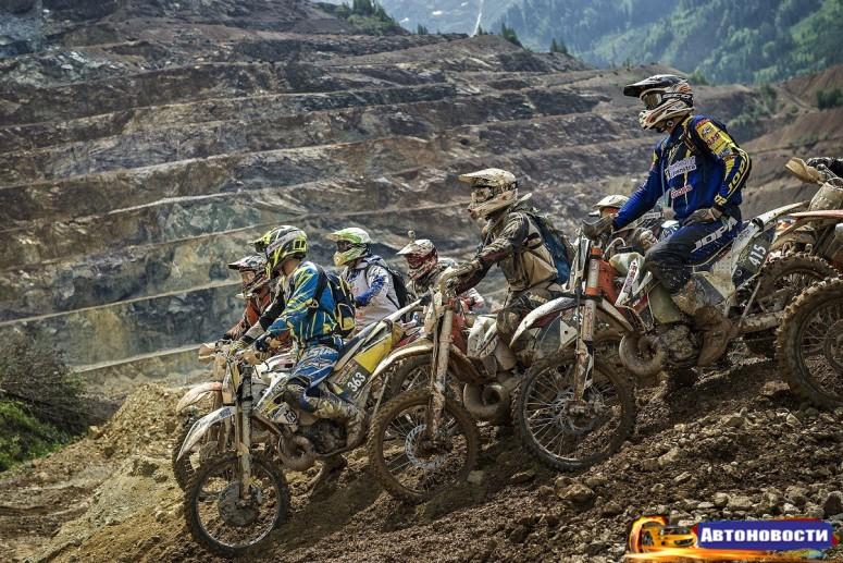 В Австрии состоялась одна из самых сложных мотогонок планеты - «Мотоциклы»