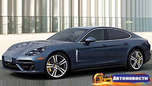 В Сеть «утекло» первое фото нового Porsche Panamera - «Автоновости»