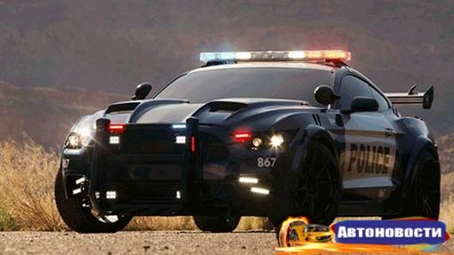 В Сети опубликовали фото нового Ford Mustang из фильма «Трансформеры» - «Автоновости»