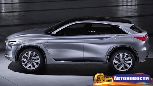 Новый кроссовер Infiniti получит «революционный» мотор - «Автоновости»