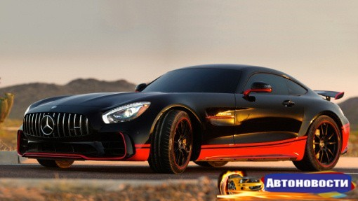 Новый Mercedes-AMG GT R снимется в «Трансформерах» - «Автоновости»