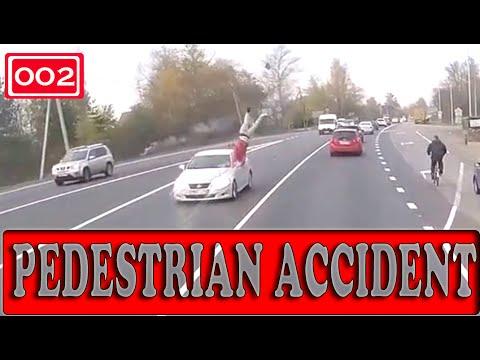 Pedestrian Accident (Compilation -002-)  - «происшествия видео»