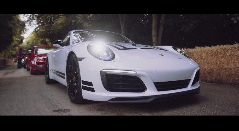 Jeff Zwart drives the Porsche 911 Carrera S Endurance Racing Edition  - «видео»